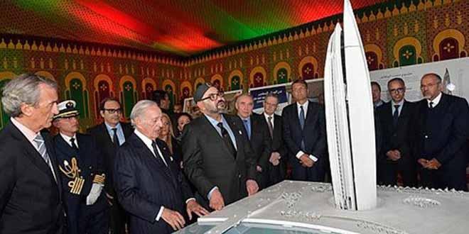 Lancement par le Roi des travaux de construction de la «Tour Mohammed VI»