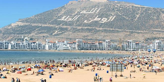Tourisme : Hausse de 13% des arrivées à Agadir