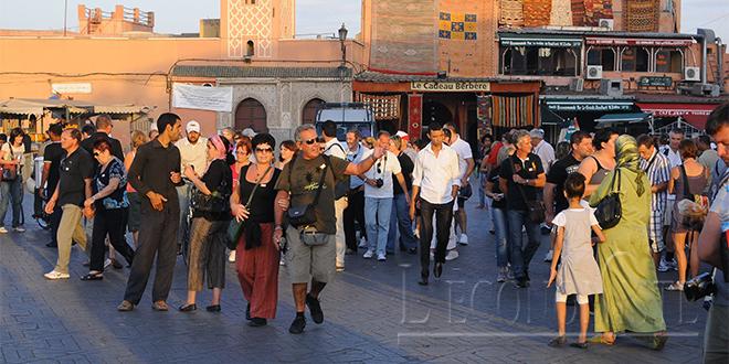 Les arrivées touristiques frôlent les 3 millions à Marrakech
