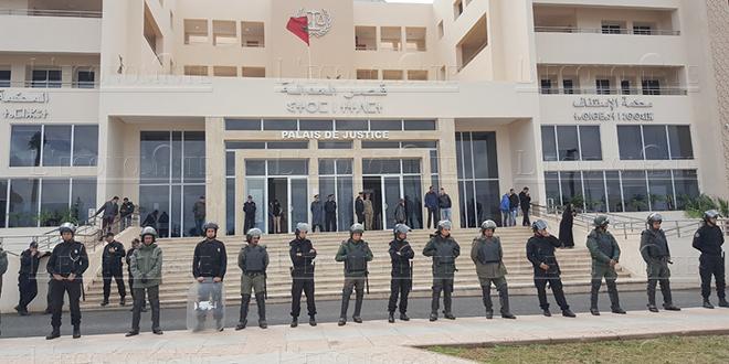 Jerada : Sept activistes en sursis
