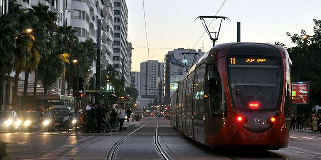 Nouvelle station de tram à Casa-Anfa