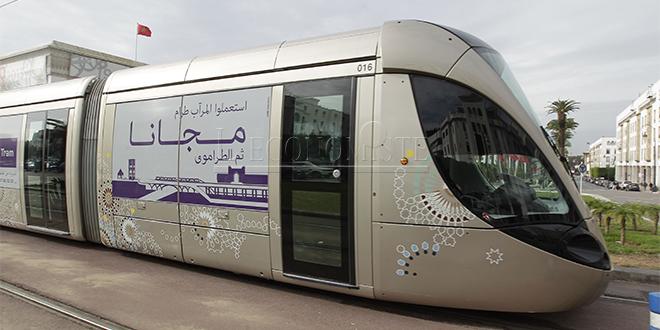 Rabat/ Tramway: Le wifi gratuit à partir de ce lundi
