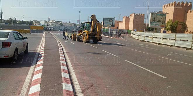 Rabat : Lancement des travaux de construction d'une trémie au centre-ville