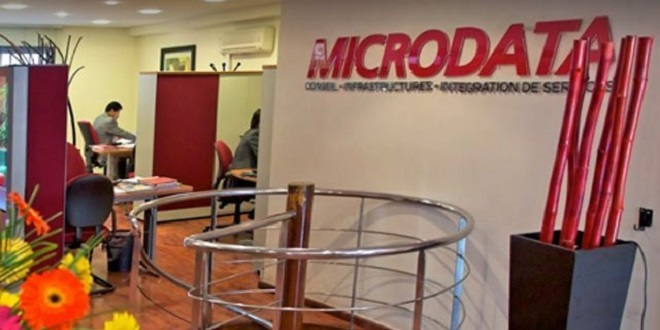 Microdata: Repli du chiffre d'affaires au 1er semetre