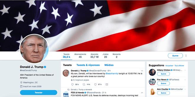 Sur Twitter, Trump ne peut bloquer ses détracteurs