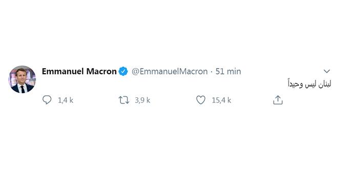 Macron à Beyrouth