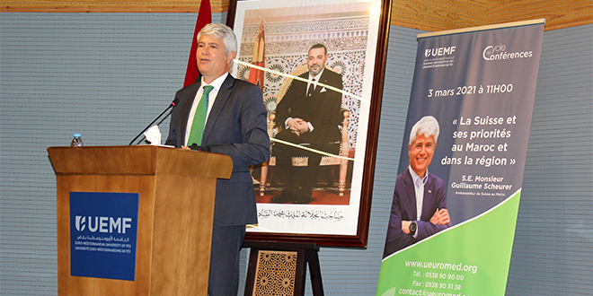 Fès: L'Ambassadeur suisse, guest-speaker à l'UEMF