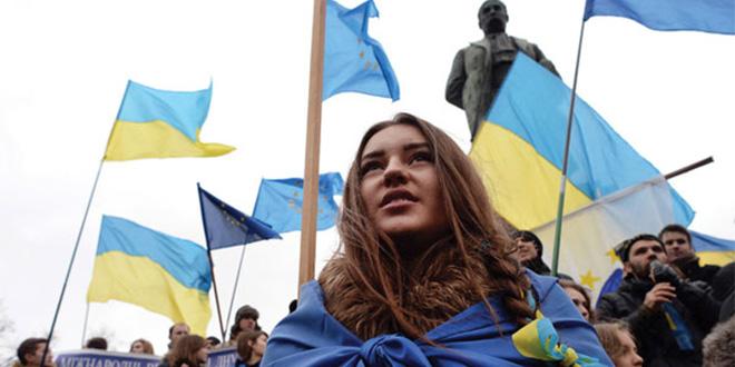Les Ukrainiens dorénavant Européens à part entière