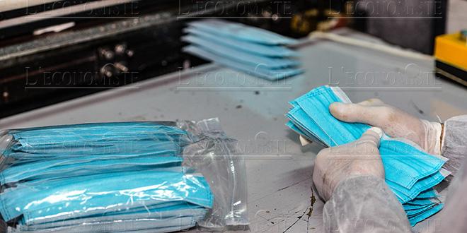 Fabrication de masques: Des autorisations gratuites pour les coopératives artisanales