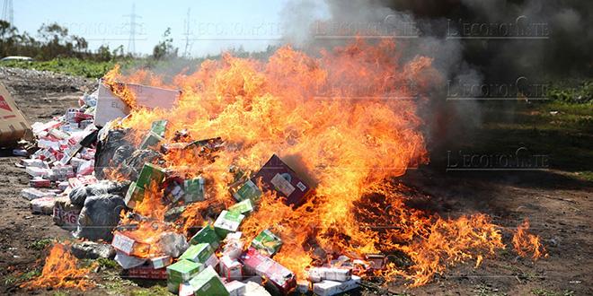 DIAPO-Casablanca : 320 kg de cocaïne incinérés à Médiouna