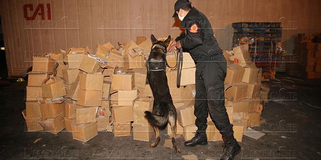 Trafic international de drogue: 1,2 tonne de chira saisie au Sud