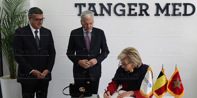 DIAPO-Maroc/Belgique : Maritime et investissements lors de la visite de la princesse Astrid à Tanger