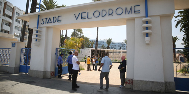 DIAPO/ Casablanca: Le parc urbain du vélodrome ouvre ses portes