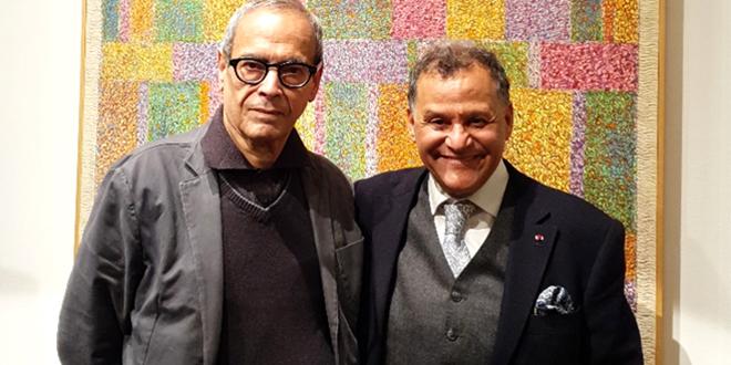 Mehdi Qotbi célèbre ses 50 ans d'activité artistique à Paris