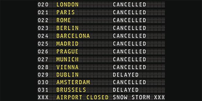 L'UE déplore les retards de vols dans les aéroports européens