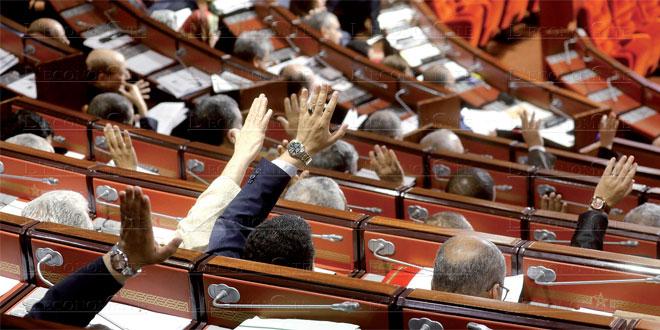 Chambre des conseillers: Les membres du bureau et les présidents des commissions élus