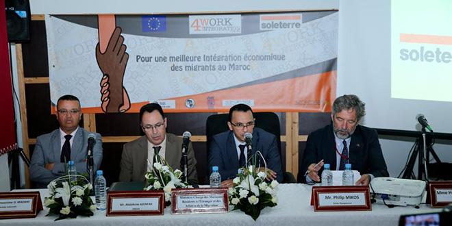 """""""Work4Integration"""" pour l'insertion des migrants régularisés"""