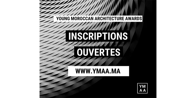 Lancement des inscriptions des Young Moroccan Architecture Awards