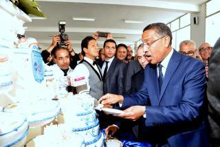 Miloudi Moukharik reconduit au poste de Secrétaire général de l'UMT-Crédit Photos Khalifa/L'Economiste