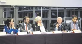 Think-tanks: L'AMIE fait salle comble à l'Institut du Monde Arabe