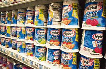 Yoplait de retour au rayon yaourts