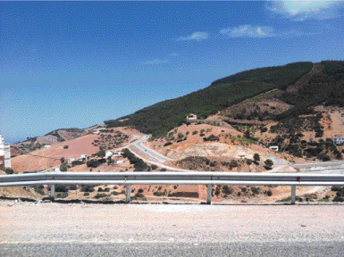 Rocade méditerranéenne Maroc P18_158