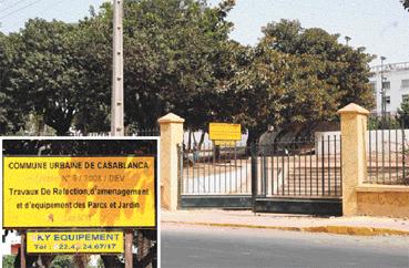 Casablanca et ses jardins Pas d'argent, pas d'élus, pas de vision...
